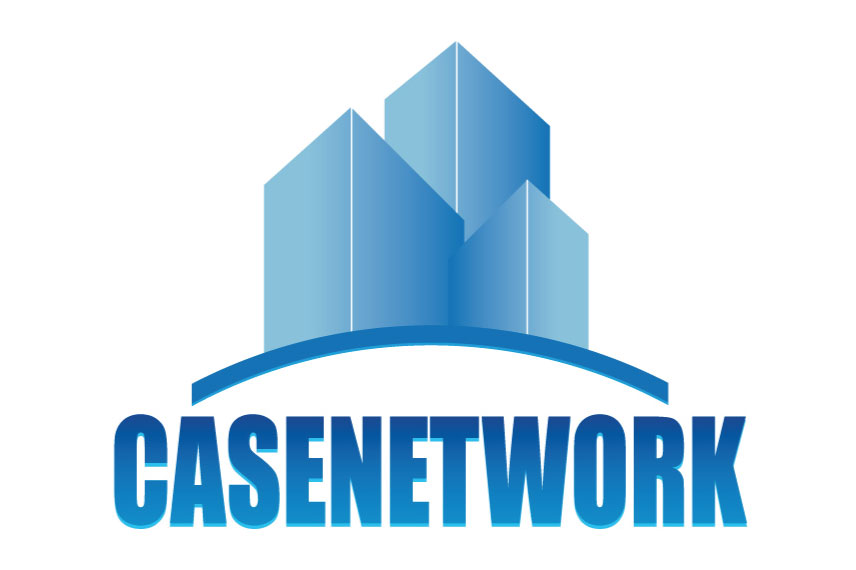 logo casenetwork by mlcom adv